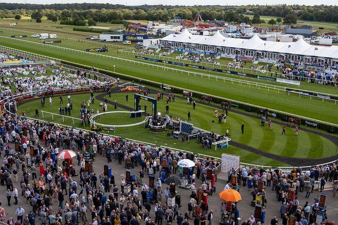 Doncaster Racecourse Crowd