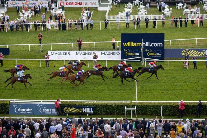 Doncaster Racecourse Finish Line