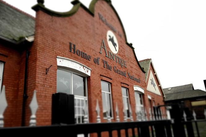 Aintree Main Entrance