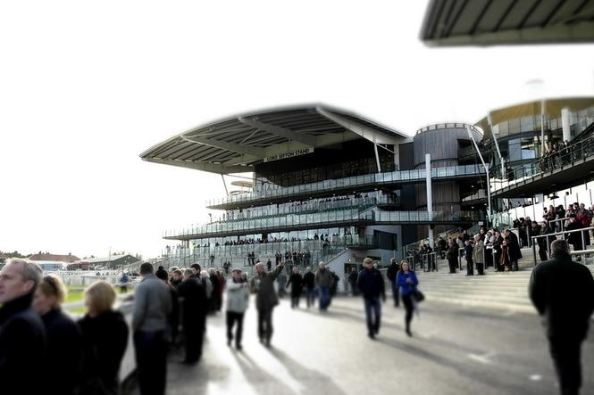 Aintree Racecourse Crowd