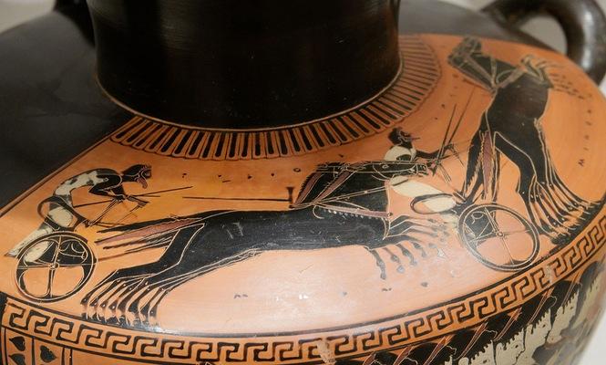 Ancient Greece Chariot Racing