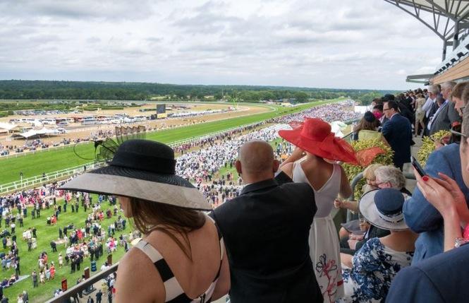 Royal Ascot Ladies in Hats